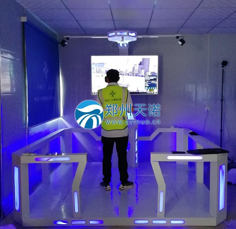 中交二公局VR安全体验馆安装完成